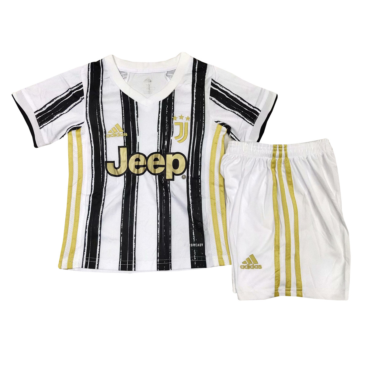 Kids 2020-2021 Juventus Home Children Soccer Jersey With Shorts ...